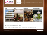 Hotel Café Römer, Geisweid (2011)